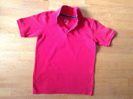 Children's Place Red Polo Shirt Size Medium 7/8  Short Sleeve - $7.91
