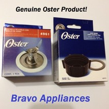 Original Oster Blender Blade 4961 & Oster Jar Base Cap 4902 with 2 Seali... - $10.99