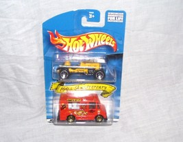 Hot Wheels JC PENNEY 100th Anniversary 2 Diecast Vehicle Set NEW - $9.99