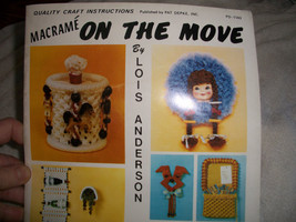 Macrame On The Move Book - $7.00