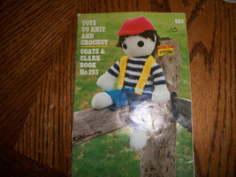 Toys To Knit and Crochet  Book - $6.00