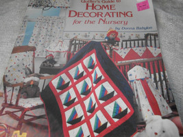 Quilter's Guide to Home Decorating for the Nursery - $5.00