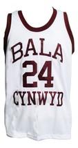 Kobe Bryant Bala Cynwyd Middle School Basketball Jersey New White Any Size image 4