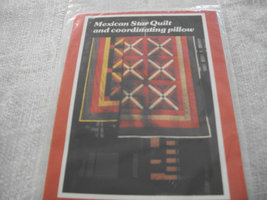 Mexican Star Quilt Pattern - $5.00
