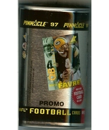 1997 pinnacle inside the can football promo can brett favre green bay pa... - $19.99