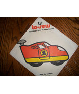 To Sew Race Car Pattern - $7.00