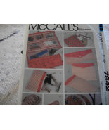 Travel Accessories Pattern McCall's 7842 - $5.00