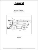 Case III AFX-8010 Combine Service Repair Workshop Manual CD --  AFX8010 - $12.00