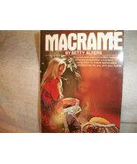 Vintage Macrame Book - $10.00