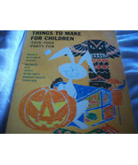 Things To Make For Children Craft Book - $8.00
