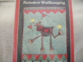 Yours Truly Reindeer Wall Hanging Pattern - $12.00