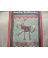 Yours Truly Reindeer Wallhanging Pattern - $12.00
