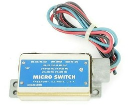HONEYWELL MICRO SWITCH BZLN-LH5 SNAP SWITCH ISSUE NO. E-343 image 2
