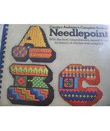 ABC Needlepoint Book - $20.00