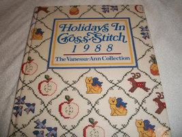 Holidays In Cross-Stitch 1988  - $5.00