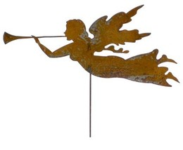 Rustic Angel Garden Stake or Wall Hanging - $36.99