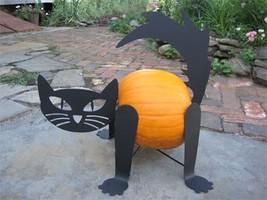 Pumpkin Cat Kit (Turn your pumpkin into a cat) / Scary Cat / Halloween C... - £43.02 GBP