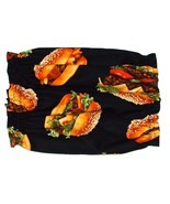 Burgers on Buns Cotton Dog Snood Size Puppy SHORT CLEARANCE  - $4.75