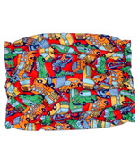 Dog Snood-Brightly Colored Cars Buses Trucks Cotton Flannel-Spaniel-Pupp... - $9.50