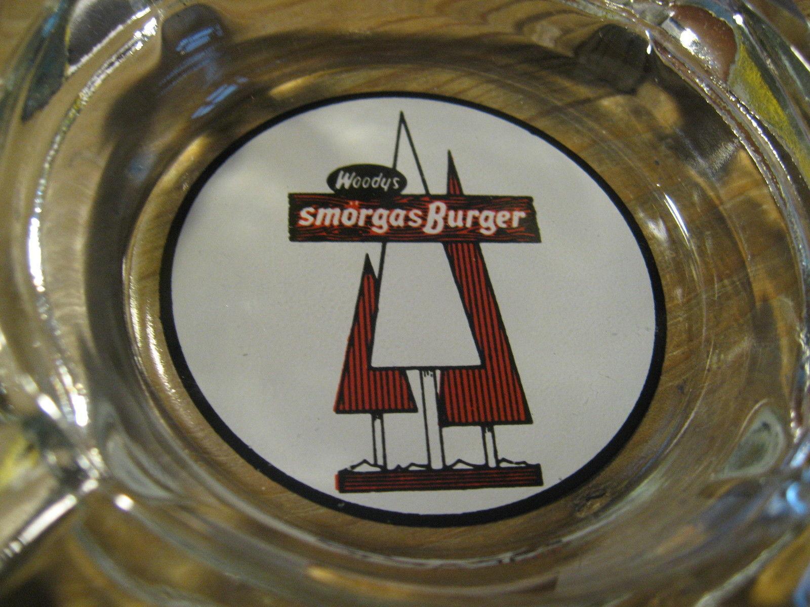 Woody's Woody Smorgasburger Hamburguesa Restaurante California Década 1960 Retro