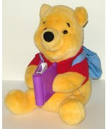 1/2 Price! Disney Winnie the Pooh Animated Read With Me Talking 2000 Mattel - $11.00