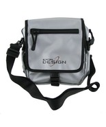 Silver Black Shoulder Travel Organizer Tote Bag Purse - $4.99