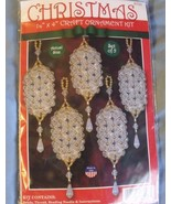 Design Works Crystal Lanterns Beaded Ornament Kit - Makes 5 - $14.99