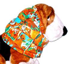 Dog Snood Autumn Hounds and Cats Cotton Block Print Cavalier Cocker Pupp... - $9.50