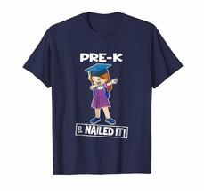 Dad Shirts -  Cute Girls Dabbing Pre-K Nailed It Graduate Funny T-shirts... - $19.95+