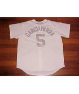 Majestic MLB AL East Boston Red Sox Nomar Garciaparra 5 White Baseball J... - $59.39