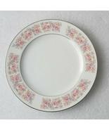 (1) Corsica by Carlton DINNER PLATE Japan 512 Floral Porcelain Platinum ... - $44.09