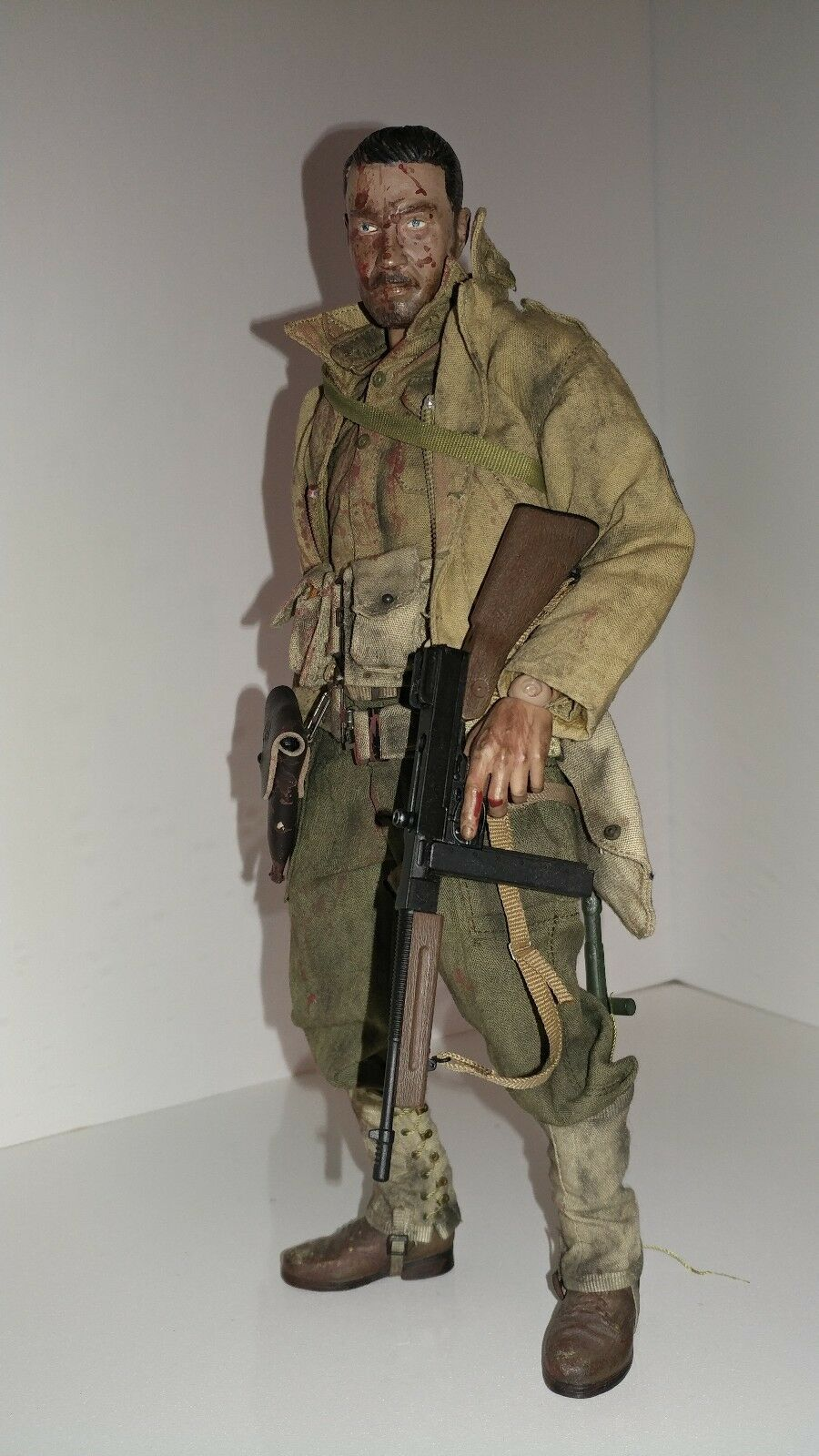 Primary image for 1/6 custom WWII Dragon DID Soldiers Story figure Hot Toys Gun READ!