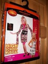 Disney High School Musical Girl Clothes Small Sharpay Halloween Costume ... - $18.99