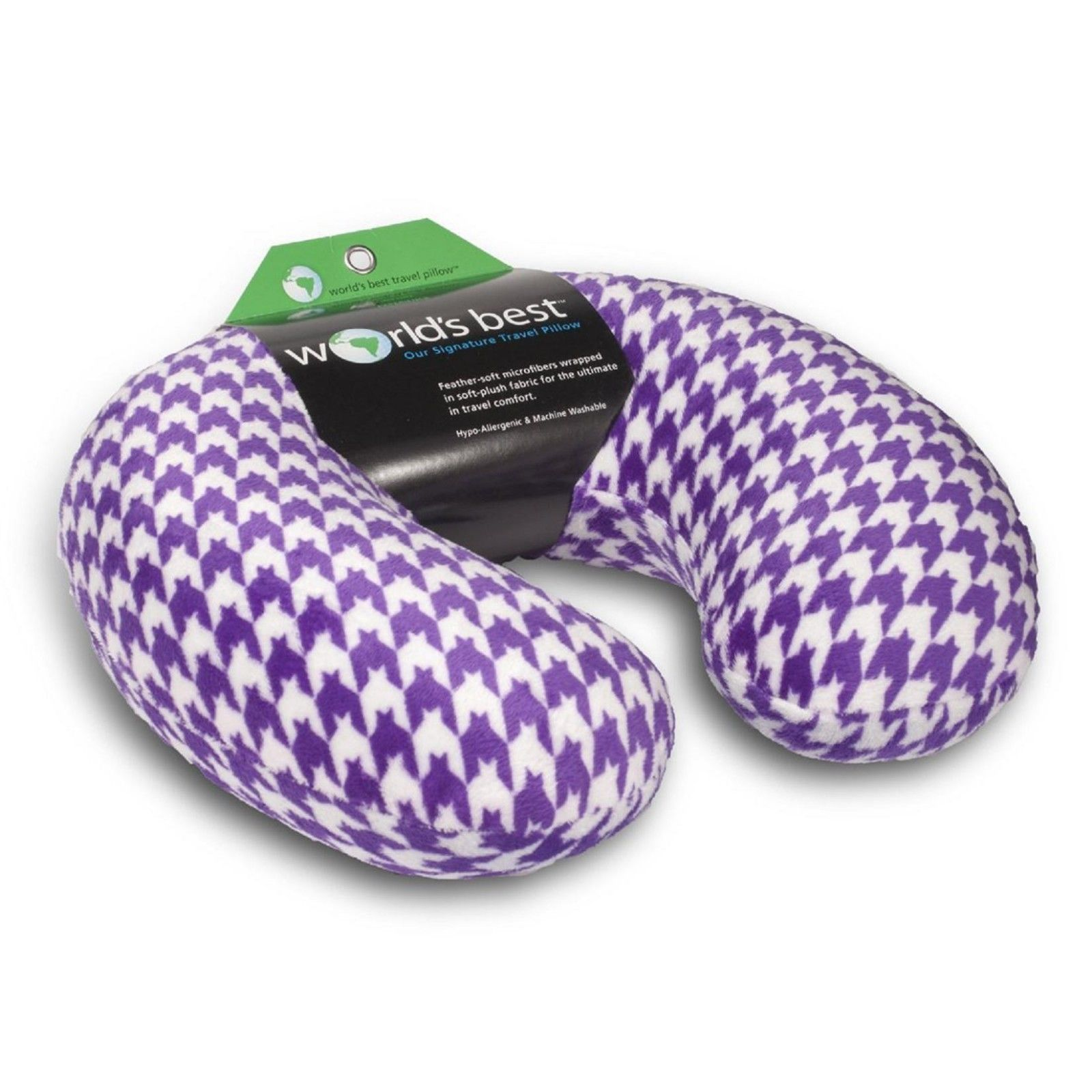 Travel Neck Pillow Microfiber Neck Rest Pillow Hypoallergenic Therapy Pillow NEW