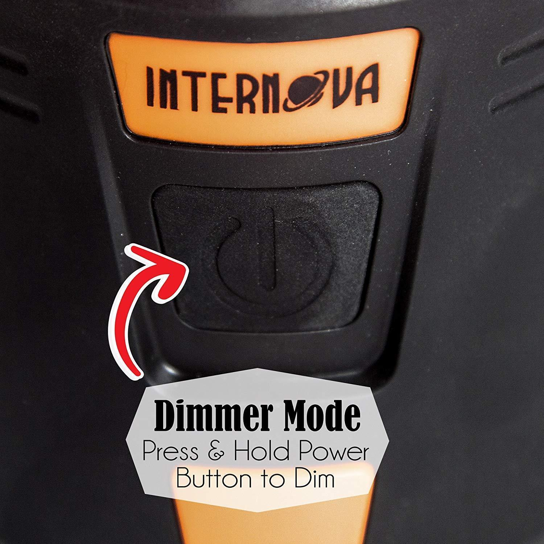 Internova 1000 LED Camping Lantern Fully Adjustable 360 Arc Lighting Valentines image 3