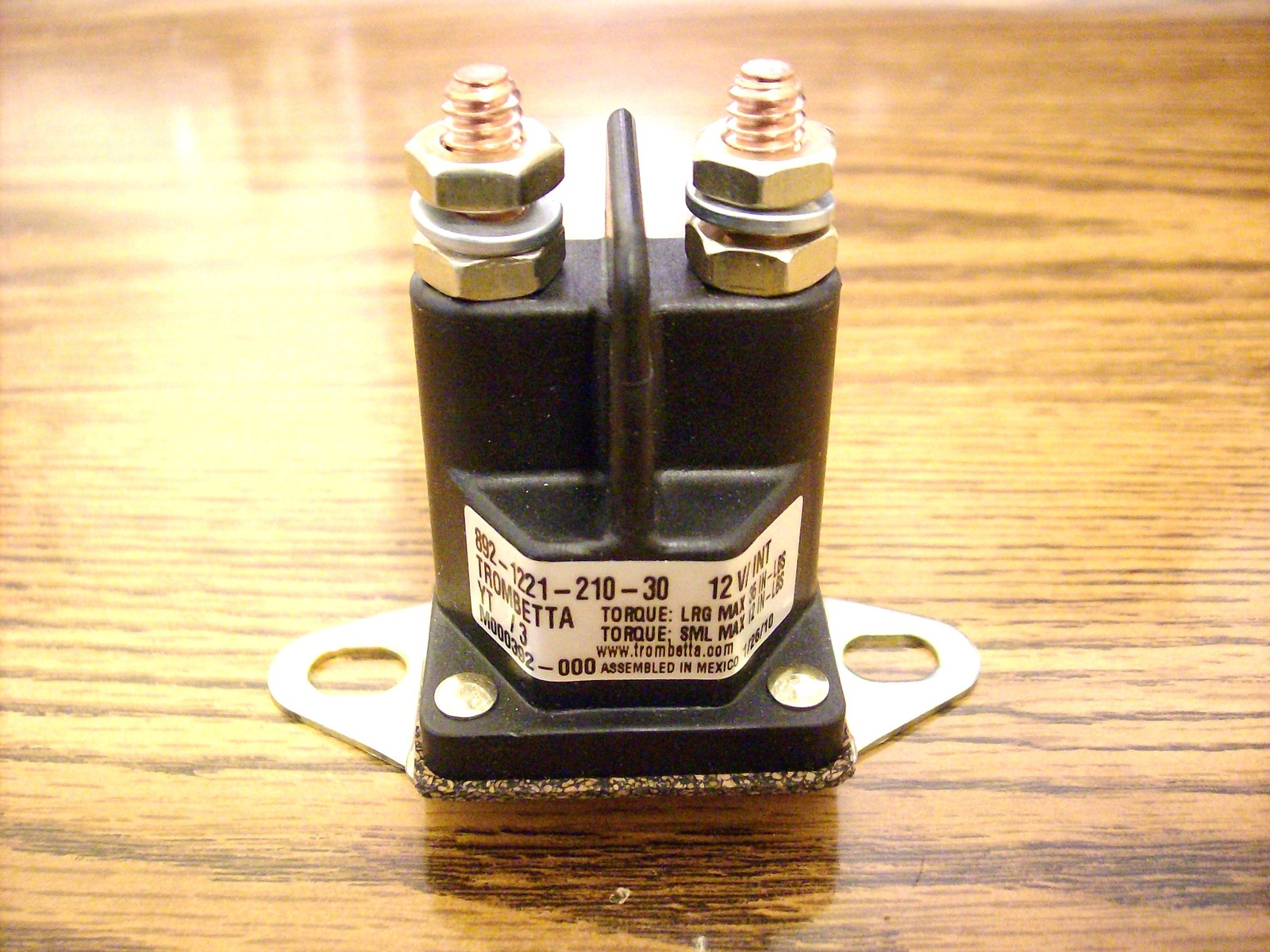 Starter solenoid for Snapper and Toro 75622, 740207, 110167, 47-1910, 7075622SM