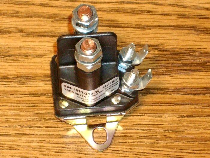 Starter solenoid for Ariens, AYP, Craftsman 138406X, 03551000, 109081X, 109946