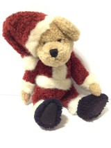 """Boyds Bear St. Niklas plush 9"""" jointed, posable, retired, excellent cond... - $14.84"""