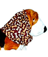 Brown Tan Good Dog Biscuits Cotton Dog Snood by Howlin Hounds Size Puppy... - $10.50