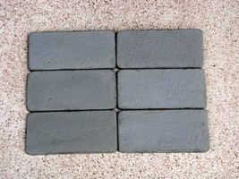 Rustic Brick Patio Paver Kit 24 Molds Supplies Make 1000s #922 Pavers @ Pennies image 4