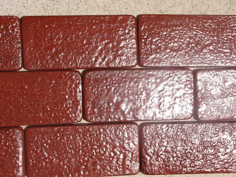 DIY #922 RUSTIC BRICK PATIO PAVERS KIT - 24 MOLDS + SUPPLIES