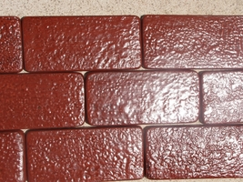 Rustic Brick Patio Paver Kit 24 Molds Supplies Make 1000s #922 Pavers @ Pennies image 5