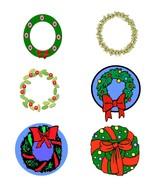 Mix Wreath13-Digital Download-ClipArt-ArtClip-Digital Art - $4.00