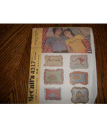 Vintage McCall's 4317 Embroidery Transfers - $4.00