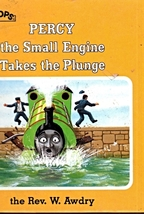 Little Pops - Percy The Small Engine Takes The Plunge By The Rev. W. Awdry - $4.95