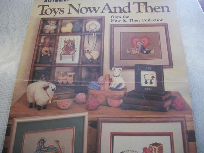 Primary image for Toys Now And Then Cross Stitch Charts
