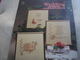 Wedding Announcements Cross Stitch Chart - $5.00