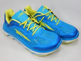 Altra Duo Size US 8.5 M (B) EU 40 Women's Running Shoes Blue Yellow AFW1838F-4