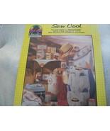 Sew Cool Cross Stitch Chart - $5.00