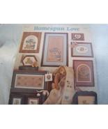Homespun Love Cross Stitch Chart - $4.00